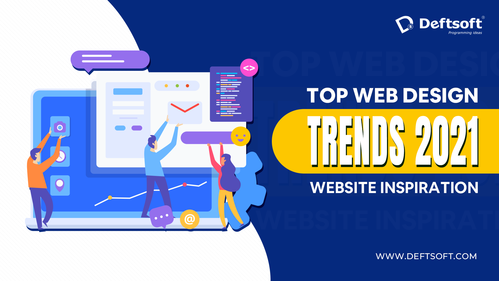 Stay Current with the Top Web Design Trends 2021